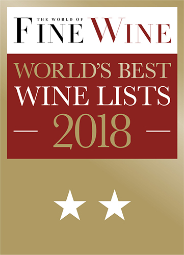 The World of Fine Wine - World's Best Wine List